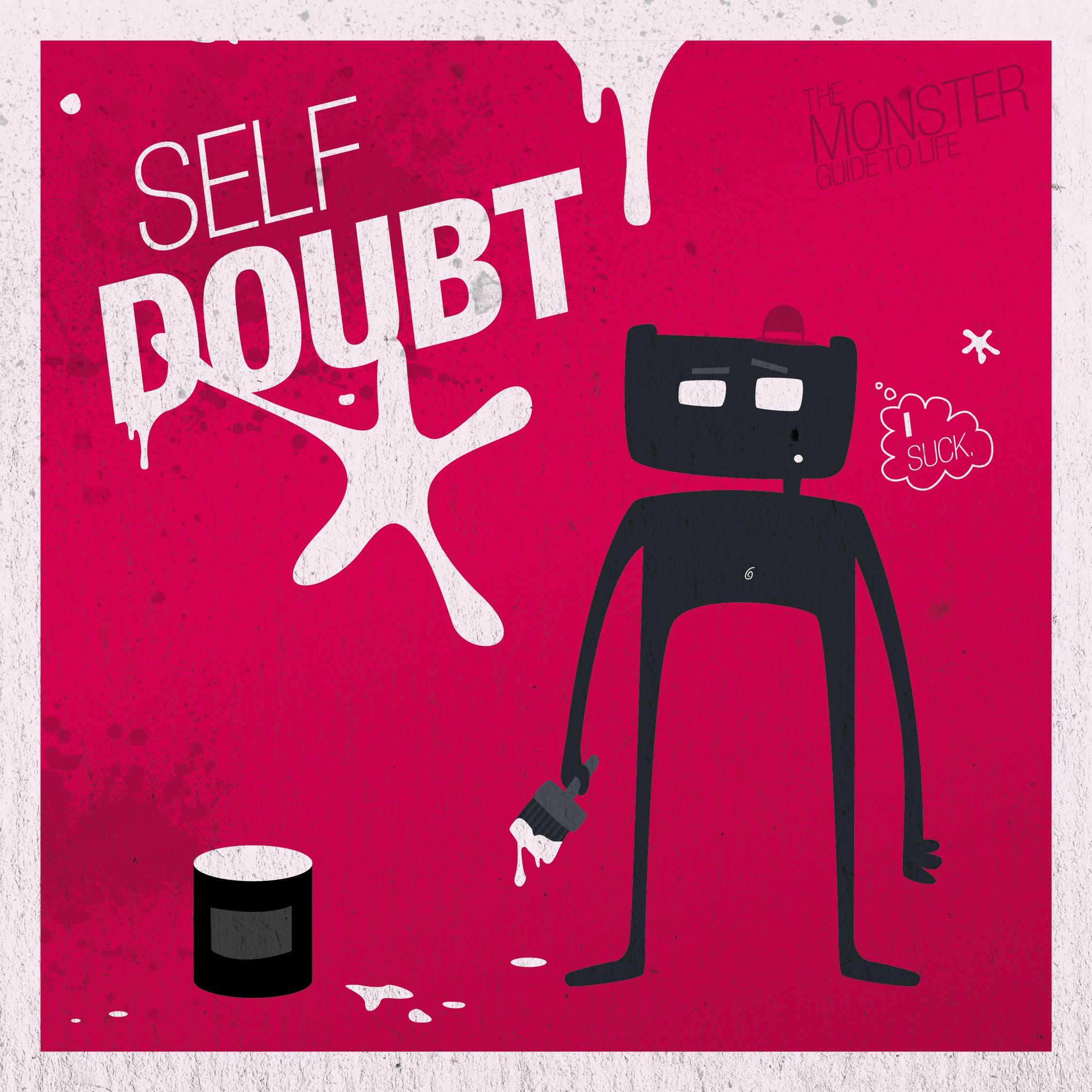 Self-doubt illustration