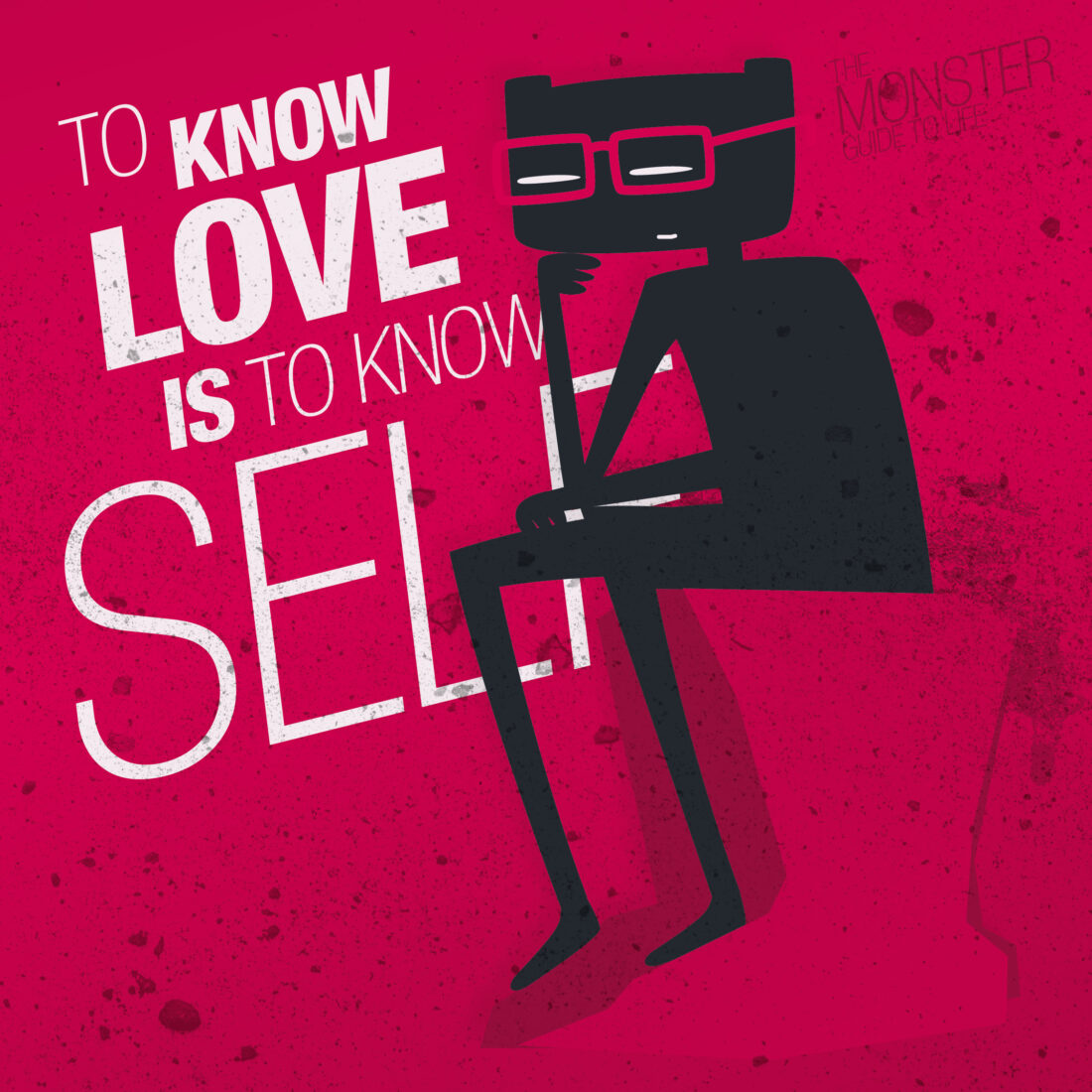 Th know love, is to know self illustration