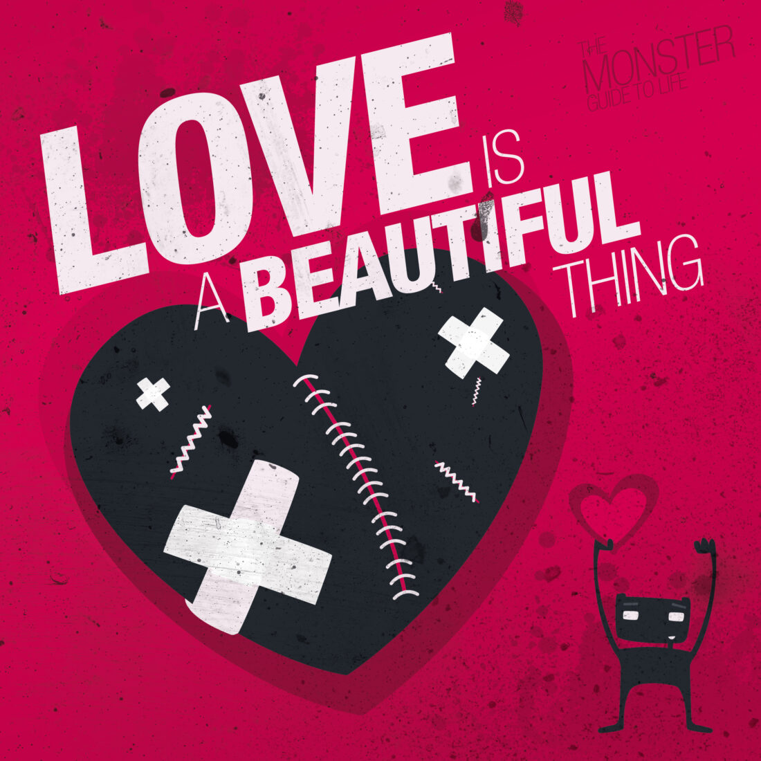 Love is a beautiful thing illustration
